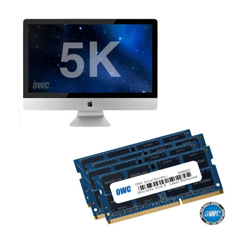 OWC Memory 32GB(16GBx2) Kit for 5K Retina iMac (32G DDR3-14900 1867MHz SO-DIMM, 2015 Late 5K 아이맥용 램)